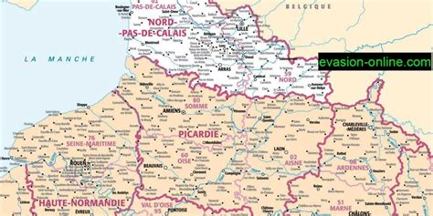 Carte Nord Ouest à Imprimer by Info Carte Nord Ouest Detaillee