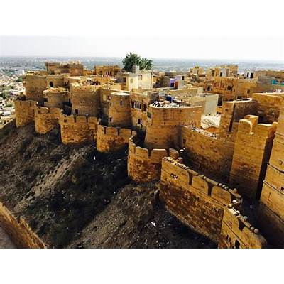 Jaisalmer Fort India - #StunningStructures...