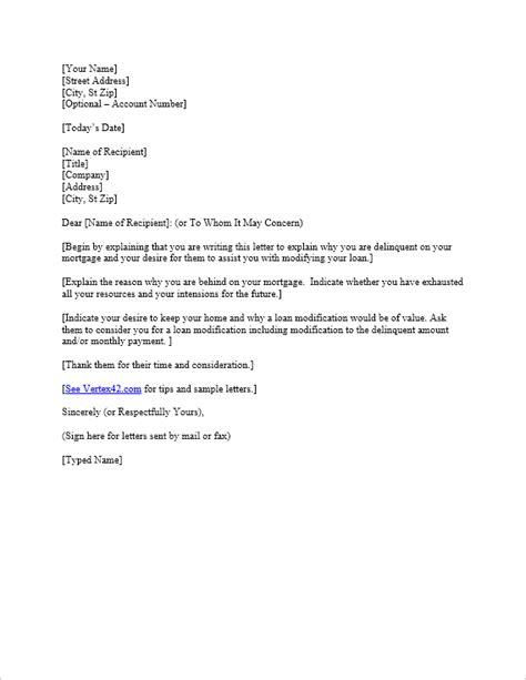 hardship letter template sample mortgage hardship