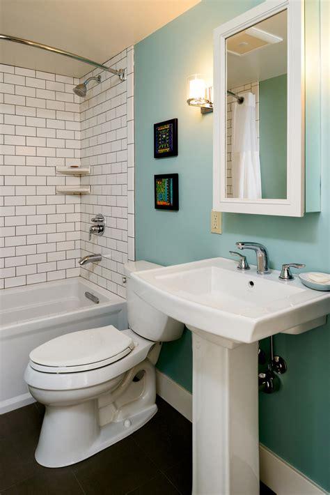 bathroom ideas small 5 creative solutions for small bathrooms hammer