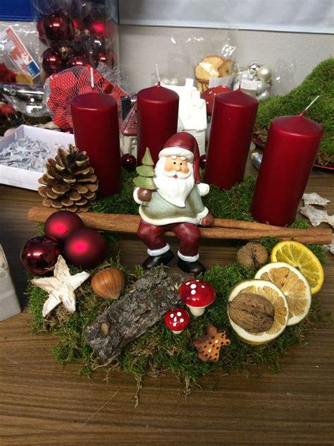 Weihnachtsdeko Adventskranz by Adventskranz Weihnachtsdeko Bastelarbeiten Weihnachten