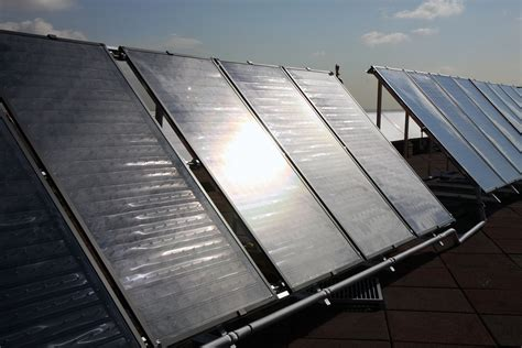 Solar Heating Drapes - solar panels can be used to provide heating and air
