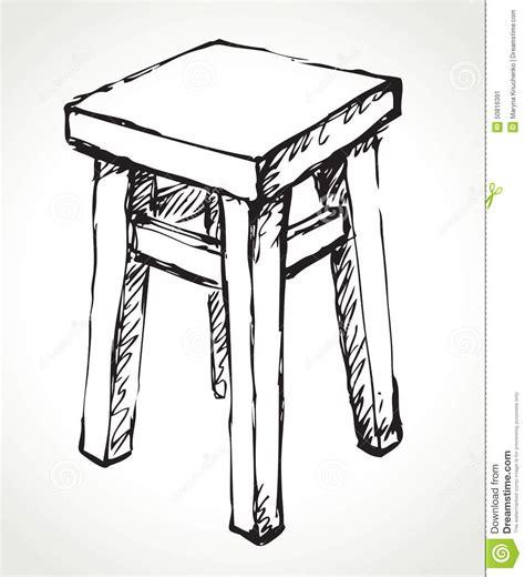 croquis cuisine antique chair silhouette