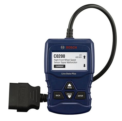 o reilly check engine light bosch obd 1100 automotive pocket scanner code readers