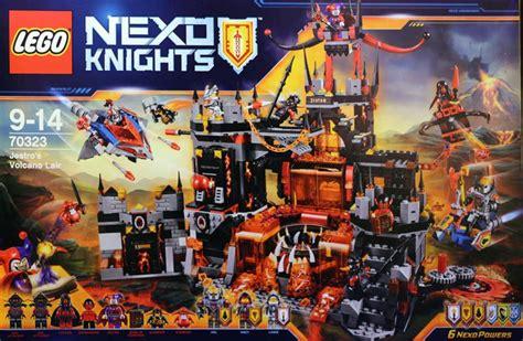 toy time builds lego nexo knights volcano lair kotaku