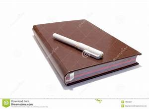 Fountain Pen On The Notebook Stock Image - Image: 18624221