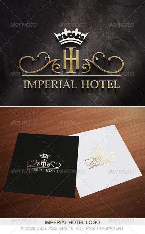 imperial hotel logo    graphicriver