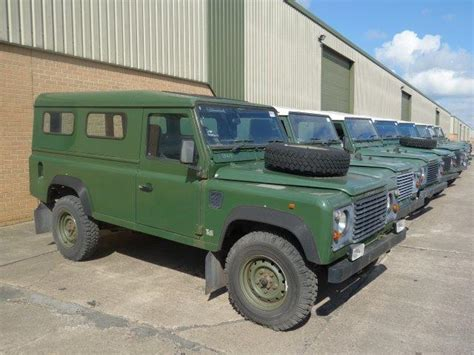 land rover military defender land rover defender 110 300tdi hard tops ex military for