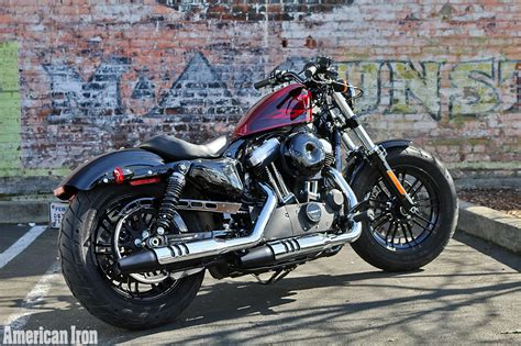 harley davidson 48 2017 harley sportster forty eight ride review motorcycle reviews forums and news