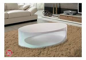 Couchtisch Oval Weiß Hochglanz : couchtisch bob tisch wei hochglanz lackiert oval ebay ~ Bigdaddyawards.com Haus und Dekorationen