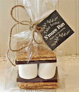 s39mores party favor kits 12 s39mores favor kits with With rustic wedding party favors