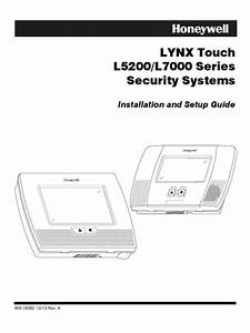 Honeywell L5200 And L7000 Installation Manual And Setup