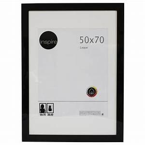 Cadre 70 X 100 : cadre laqu 50 x 70 cm noir noir n 0 leroy merlin ~ Dailycaller-alerts.com Idées de Décoration