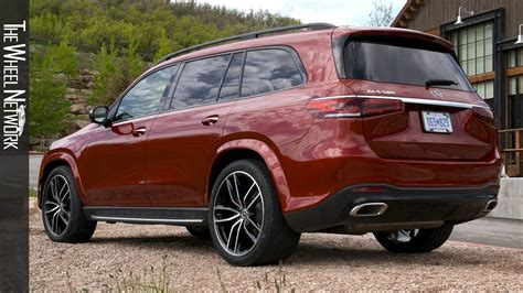 More space, more comfort, more luxury. 2020 Mercedes-Benz GLS 580 4MATIC | Hyacinth Red | Exterior, Interior - YouTube