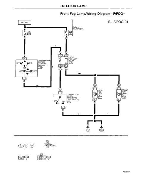 1997 Nissan Altima Wiring Diagram by Repair Guides Electrical System 1997 Exterior