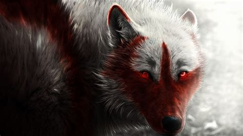 hd digital art arctic wolf hd wallpapers
