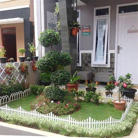 gambar desain taman depan rumah mewah rumah zee