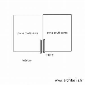 Plan Porte Coulissante : porte coulissante plan dessin par jaja31 ~ Melissatoandfro.com Idées de Décoration