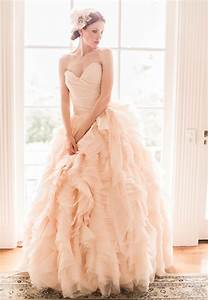 10 strikingly beautiful wedding dresses in pastels With pastel wedding dresses