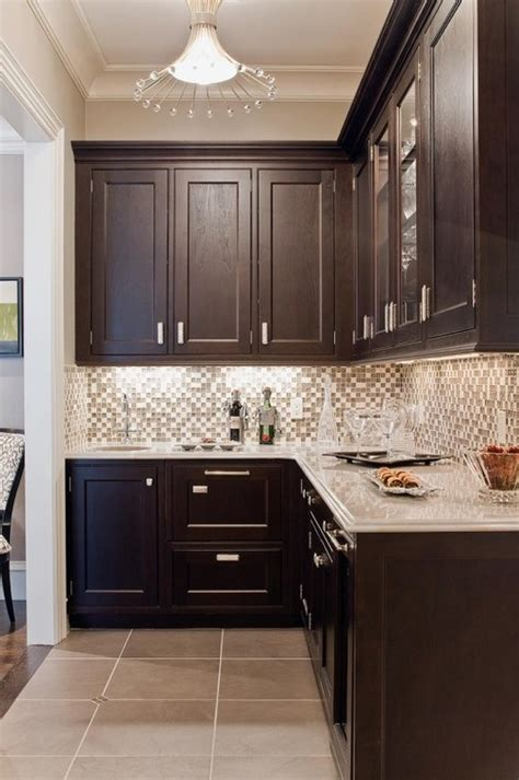 dark brown kitchen cabinets dark brown cabinets gray countertops kitchens pinterest