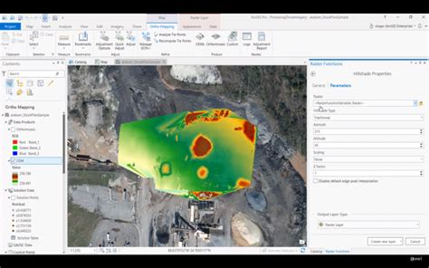 ortho mapping  arcgis pro processing drone imagery droneality