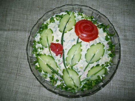 Salad Decoration Ideas Images - salad decoration salads potato salad