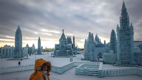 Harbin And Snow Festival Picture by Harbin Festival Broadcast China