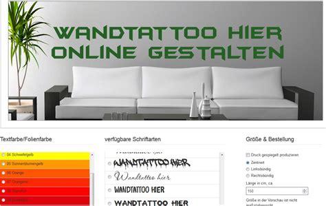 Wandtattoos Kinderzimmer Selbst Gestalten by Wandtattoo Selber Gestalten Texte Und Wandsticker Spr 252 Che