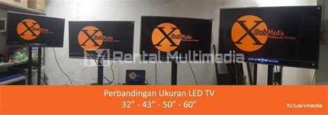 rentalsewa led tv   rental multimedia murah surabaya