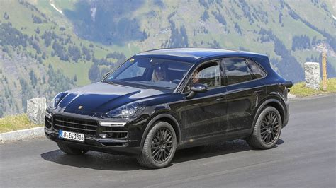 2018 Porsche Cayenne Spied Testing At The 'ring And In The
