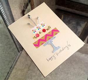 Geburtstagskarte Basteln Einfach : geburtstagskarten basteln 30 tolle ideen mit anleitung zum nachmachen ~ Orissabook.com Haus und Dekorationen