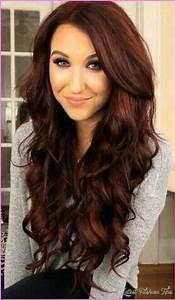 Brownish Red Hair Color