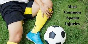 what are the most common sports injuries rxdx
