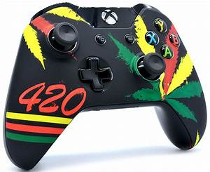 """""""420"""" Xbox One Modded Controller"""