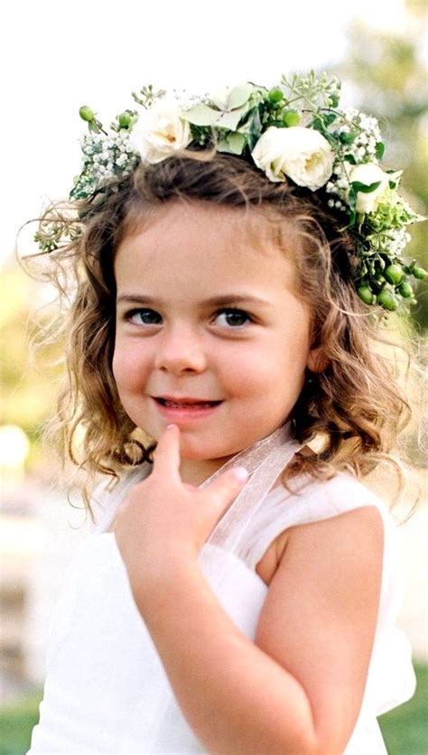 girls wedding flower crown halo corona flower