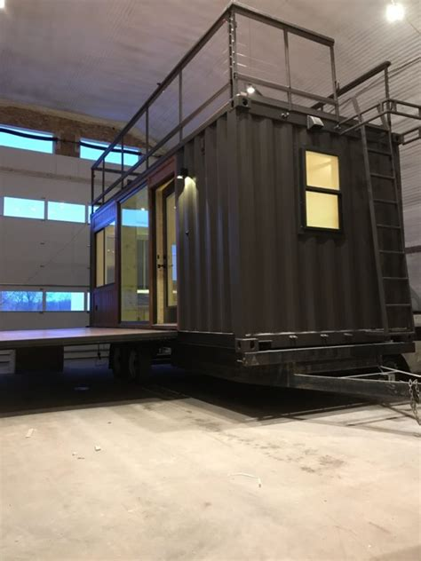 vista  shipping container tiny house  escape
