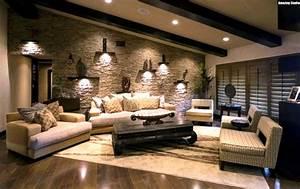 Wandgestaltung Ideen Wohnzimmer : wohnzimmer wandgestaltung ideen ~ Yasmunasinghe.com Haus und Dekorationen
