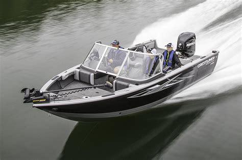 Lake Sport Aluminum Boats For Sale by 2017 New Crestliner 1950 Hawk Aluminum Fishing Boat