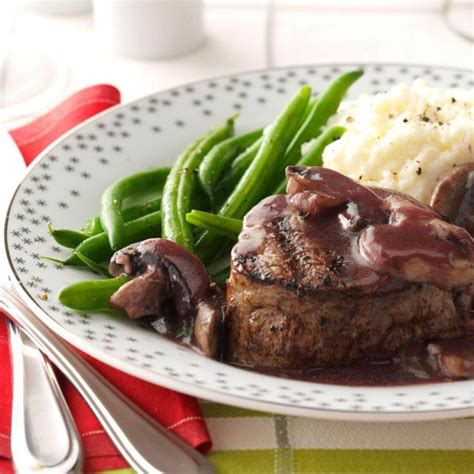 If you haven't tried this recipe, today is the first day of the rest of your life. Beef Tenderloin with Mushroom Sauce Recipe | Taste of Home