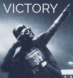 #Darth #Vader #Victory #StarWars #Meme #Celebration   Coso ...