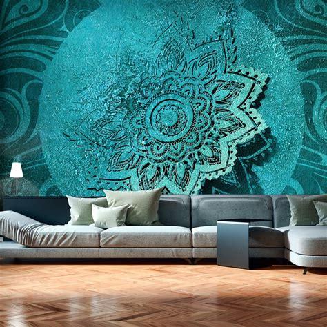 3d Wallpapers For Walls In by Wallpaper Azure Flower 3d Wallpaper Murals Uk