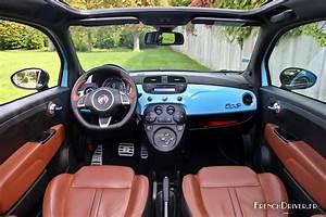 Fiat 500 Interieur : essai de l 39 abarth 595 turismo surprenante citadine french driver ~ Gottalentnigeria.com Avis de Voitures