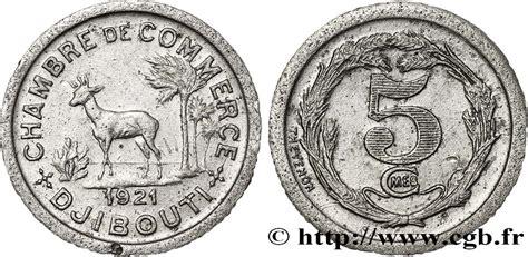 Djibouti 5 Centimes Chambre De Commerce De Djibouti 1921
