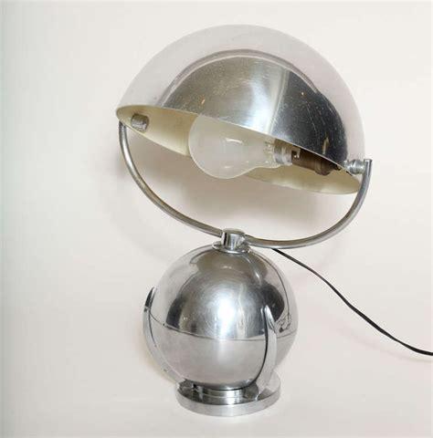 Boule Metal Deco Jardin by Felix Aublet French Art Deco Boule Nickelled Metal Desk
