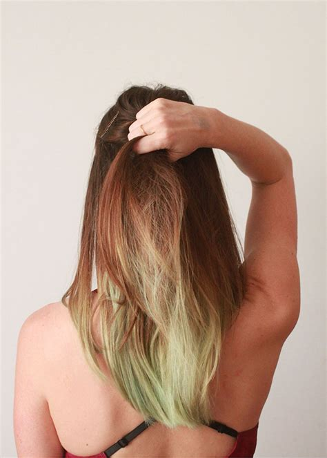 dye  hair  food coloring ecocult