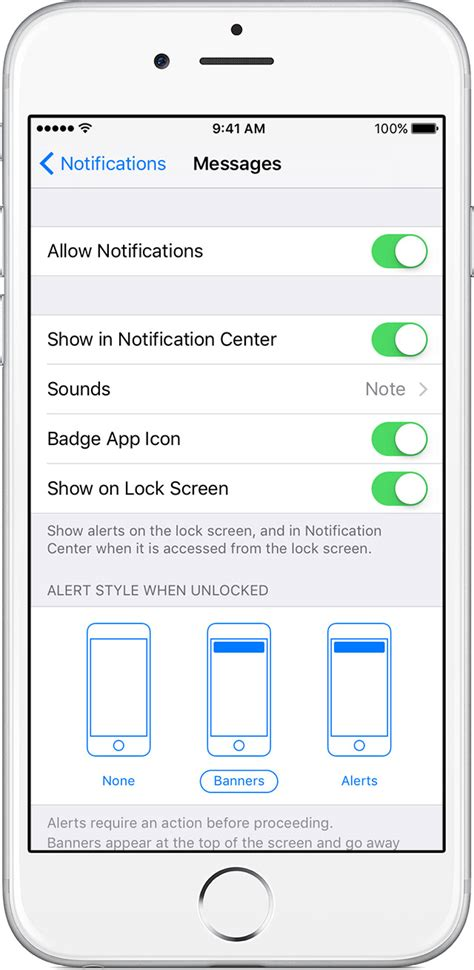 how to get photos my iphone use notifications on your iphone and ipod touch