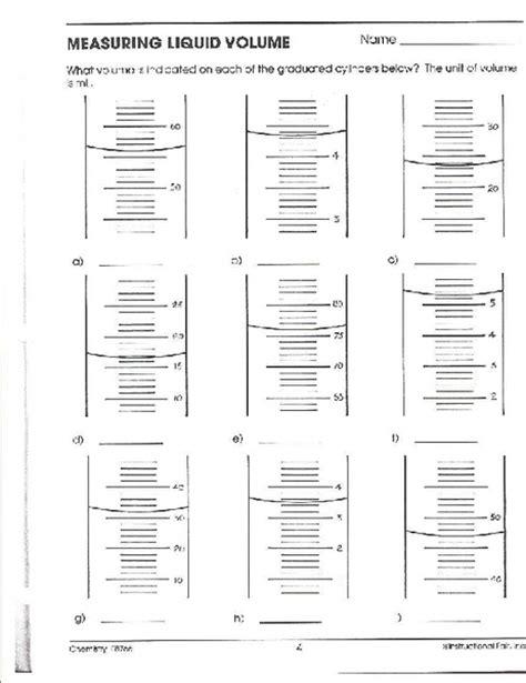 measuring liquid volume worksheet worksheets ratchasima