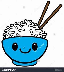 Rice bowl clipart - Clipground