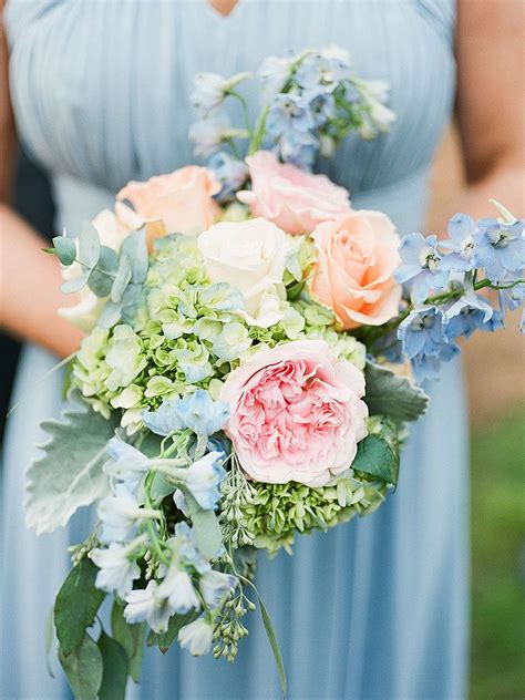 Wedding Flowers by The Best Blue Wedding Flowers And 16 Gorgeous Blue Bouquets