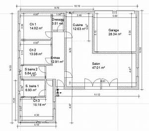 plan maison gratuit plain pied With charming plan maison etage 100m2 10 plan de maison traditionnelle ligne traditionnelle